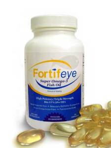 Fortifeye Super Omega is many doctors choice for dry eye.