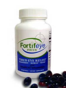 Fortifeye Focus improves dry tired eye symptoms. Works well with Fortifeye Super omega.